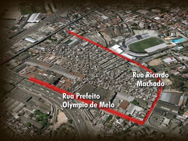 Implosão (Foto: Reprodução/ TV Globo)