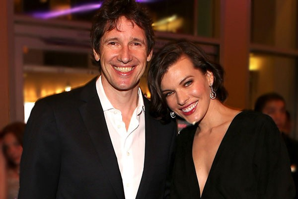Paul W. S. Anderson e Mila Jovovich (Foto: Getty Images)
