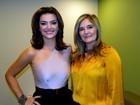 Mayana Neiva diz que corpão vem da genética familiar: 'Minha mãe é linda'