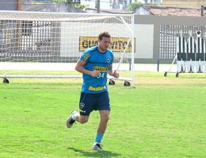 Marcelo Mattos no treino do Botafogo (Foto: Fred Huber / Globoesporte.com)