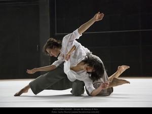 """""""Insthabilidade"""" do Grupo de Dança Primeiro Ato compoem a Mostra Contemporânea (Foto: Guto Muniz/Divulgação)"""