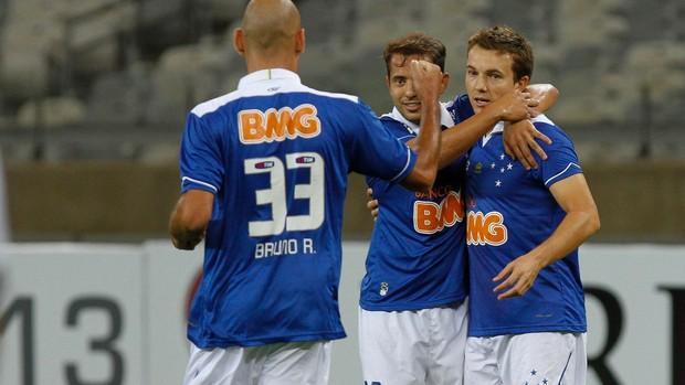Dagoberto gol Cruzeiro (Foto: Washington Alves / VIPCOMM)