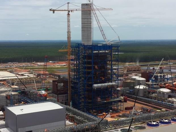 Fibria está investindo R$ 7,7 bilhões em nova linha de produção e ajudou a transformar Três Lagoas na capital do emprego em 2016 (Foto: Fibria/Divulgação)