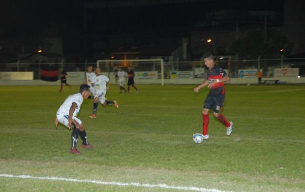 Santos e Trem empatam e o 'Peixe' é op campeão do 1º turno do 'Amapazão' 2013 (Foto: Gabriel Penha/GE-AP)