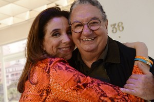 Marisa Orth e Caulinha (Foto: VIVA)