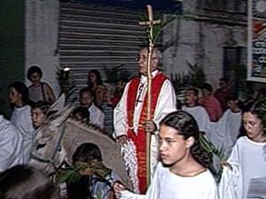 Bispo emérito da cidade de Goiás, dom Tomás Balduino (Foto: Reprodução/ TV Anhanguera)