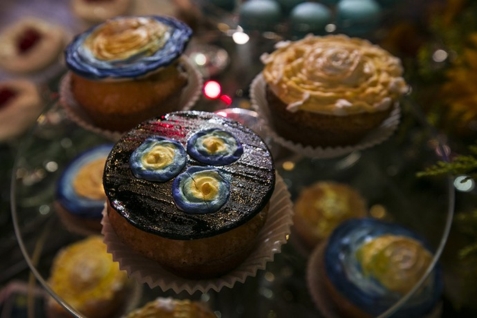 Muffins Van Gogh (Foto: Camila Camacho / Gshow)