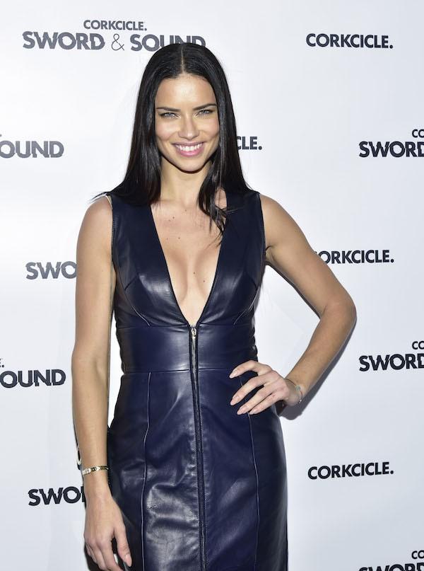 A modelo brasileira Adriana Lima (Foto: Getty Images)