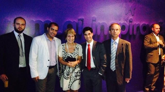 """Os gestores da Inter TV RJ participaram do """" vem aí"""" na noite de terça-feira (Foto: Leopoldo Nogueira)"""