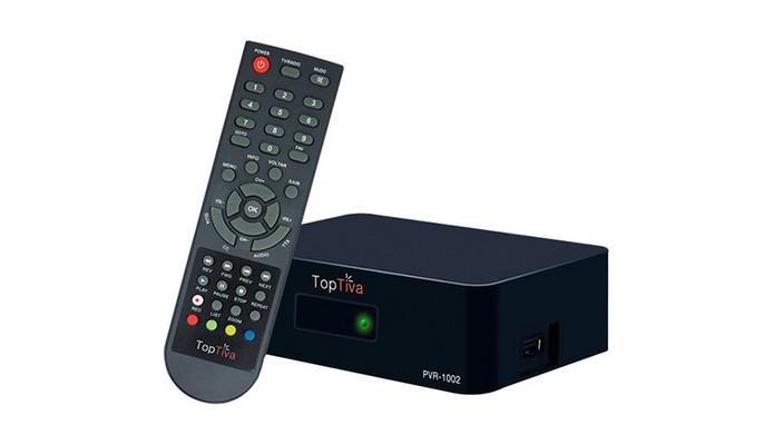 Conversor de TV Digital PVR-1002 (Foto: Divulgação/Toptiva)