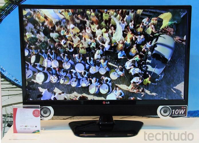 O My TV ModoTorcida LB600B é uma tentativa de híbrido direcionado a esportes (Foto: Renato Bazan/TechTudo) (Foto: Renato Bazan/TechTudo)