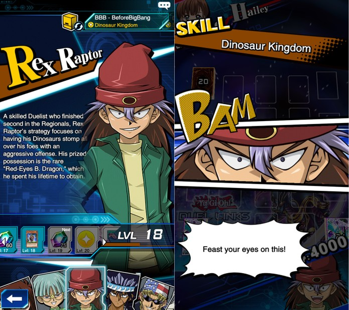 Yu-Gi-Oh! Duel Links: Rex tem muitas habilidades e quase todas são excelentes (Foto: Reprodução/Vinícius Mathias)