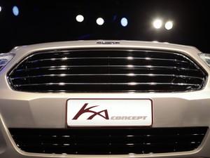 Ford Ka Concept sedã (Foto: Caio Kenji/G1)