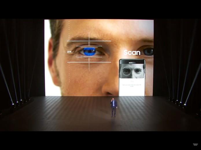 Lançamento Galaxy Note 7 (Foto: Reprodução/YouTube)