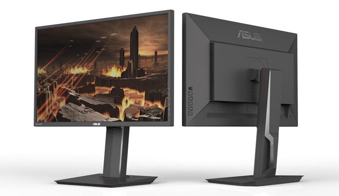 Monitor tem vocação gamer tem 27 polegadas e resolução de 2560 x 1440 pixels (Foto: Divulgação/Asus)