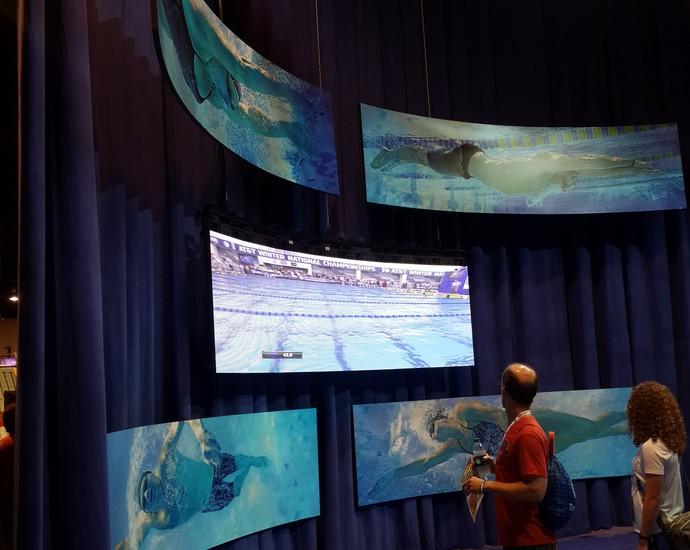 seletiva olímpica americana, natação (Foto: Lydia Gismondi)