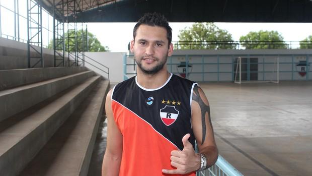 Pedro Beda, reforço do River-PI (Foto: Wenner Tito/Globoesporte.com)
