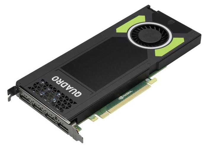 Com GPU menos poderosa, Quadro M4000 ocupa apenas o espaço de um slot dentro do gabinete (Foto: Divulgação/Nvidia)