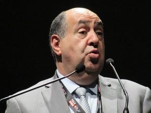 Presidente da Anatel, João Rezende defendeu a criação de planos mais baratos de TV por assinatura (Foto: Darlan Alvarenga / G1)