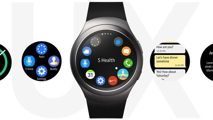 403d080cf71 Gear S2 vem com sistema Tizen compatível com Android 4.4 ou superior (Foto   Reprodução