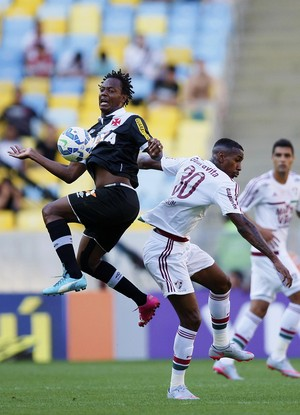Andrezinho e Gerson Fluminense x Vasco (Foto: Marcelo de Jesus / GloboEsporte.com)