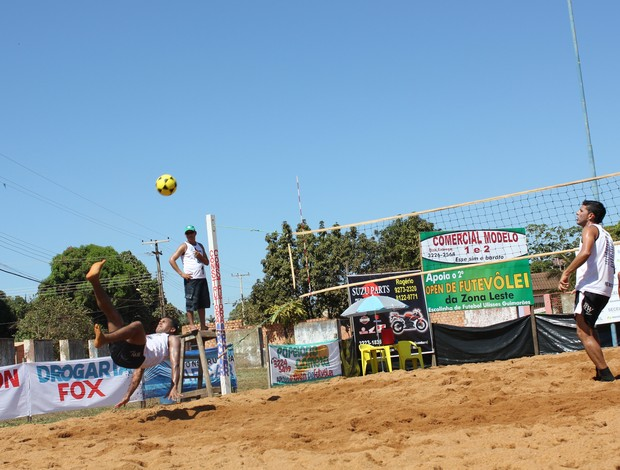 II Open de Futevôlei de Porto Velho (Foto: Shara Alencar/GLOBOESPORTE.COM)