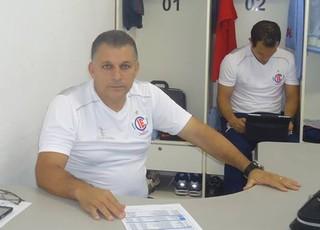 Zé Humberto, técnico do Itumbiara (Foto: Divulgação/Itumbiara)