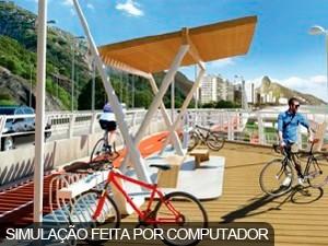 Mirante será ponto de descanso para ciclistas (Foto: Foto: Prefeitura do Rio/Divulgação)