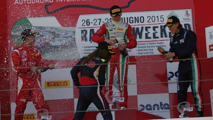 João Vieira  (Foto: Divulgação Italian championship )