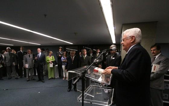 Ex-ministro do STF Carlos Velloso, em foto de 2009 (Foto: U.Dettmar/SCO/STF )