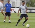 Guilherme treina e deve voltar ao Corinthians em decisão no sábado