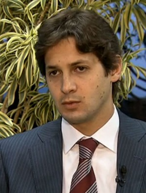 Fl�vio Zveiter, presidente do Superior Tribunal de Justi�a Desportiva (STJD) (Foto: Reprodu��o SporTV)