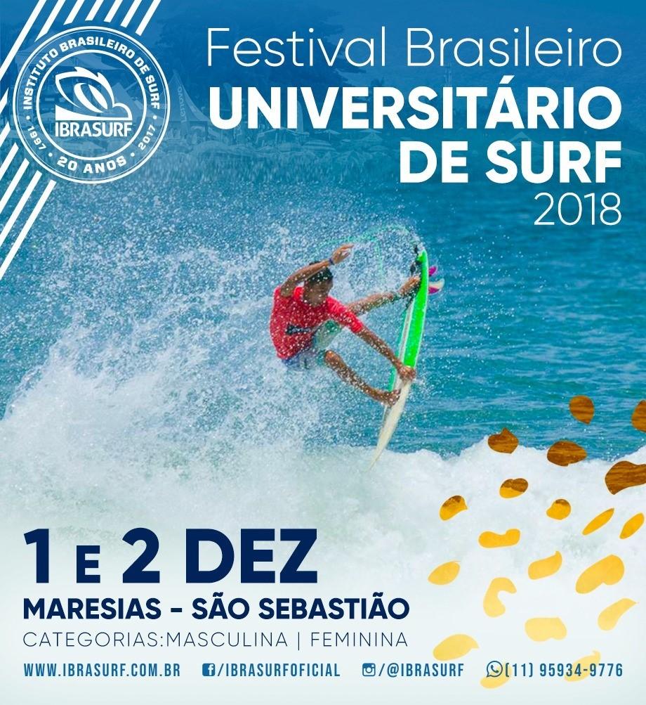 20 Edio do Circuito Brasileiro de Surfe Universitrio (Foto: Divulgao)