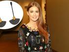 Marina Ruy Barbosa usa brincos de ouro negro com diamantes em prêmio