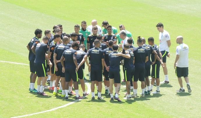 Treino Seleção Brasil Natal (Foto: Felipe Zito)