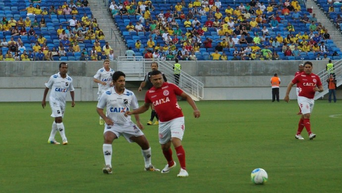 América-RN x ABC - masters - Arena das Dunas (Foto: Augusto Gomes/GloboEsporte.com)