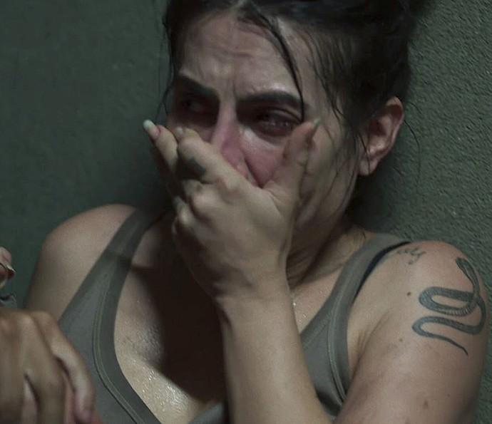Participantes aparecem desesperados no último episódio de 'Supermax' (Foto: TV Globo)