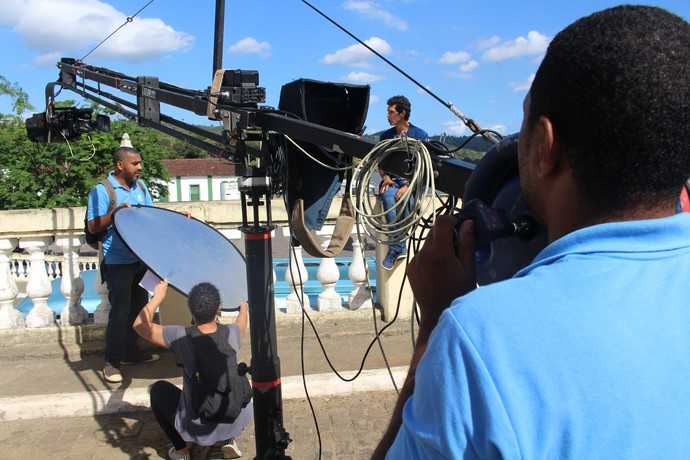 Bastidores Aprovado Flica (Foto: TV Bahia)