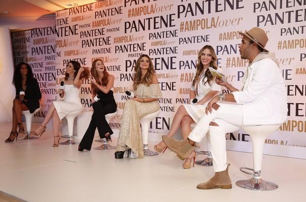 Marina Ruy Barbosa em evento da Pantene (Foto: Marcos Serra Lima/EGO)