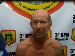 Suspeito de matar a mãe disse que não se arrepende (Foto: Eliseu Vieira/Folha do Sul)