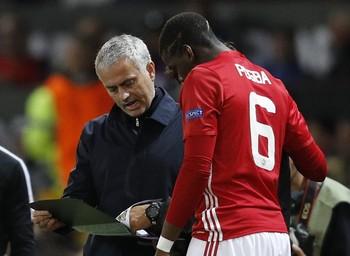 José Mourinho Paul Pogba (Foto: Reuters)