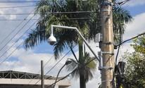 Câmeras são instaladas na 'Avenida do Samba' em Araxá (PMA/Divulgação)
