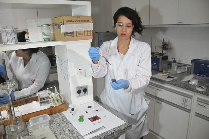 laboratório grafeno (Foto: Divulgação/Mackenzie)