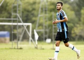 Paulo Sérgio, zagueiro do Grêmio sub-17 (Foto: Rodrigo Fatturi/Grêmio/Divulgação)