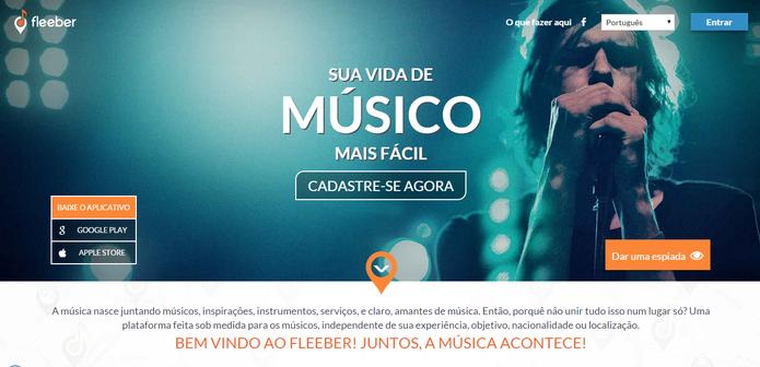Fleeber, a rede social para músicos (Foto: Divulgação/Fleeber)