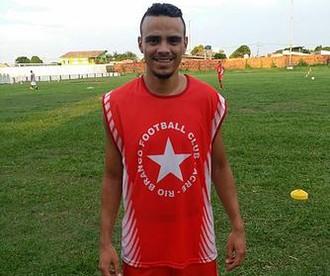 Cristian Santos, lateral-esquerdo do Rio Branco-AC (Foto: Divulgação/Rio Branco FC)