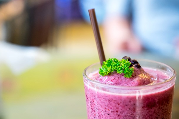 Shake de uva integral (Foto: Thinkstock)