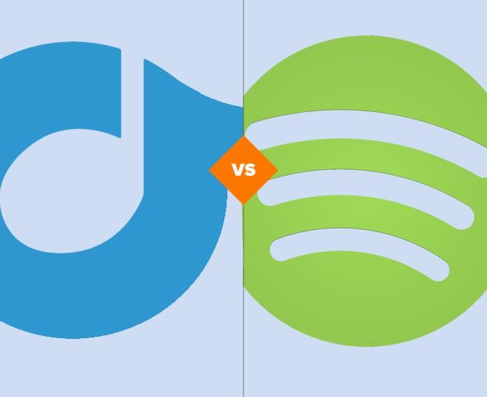 Rdio ou Spotify? qual é o melhor serviço de streaming de música (Foto: Arte/TechTudo)
