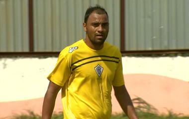 Marcelo Soares, atacante Rio Branco (Foto: Carlos Velardi/ EPTV)