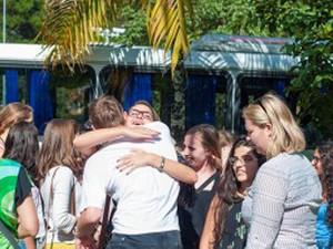 Estudantes Dinamarqueses Juiz de Fora (Foto: Luiz Carlos Lima/UFJF)